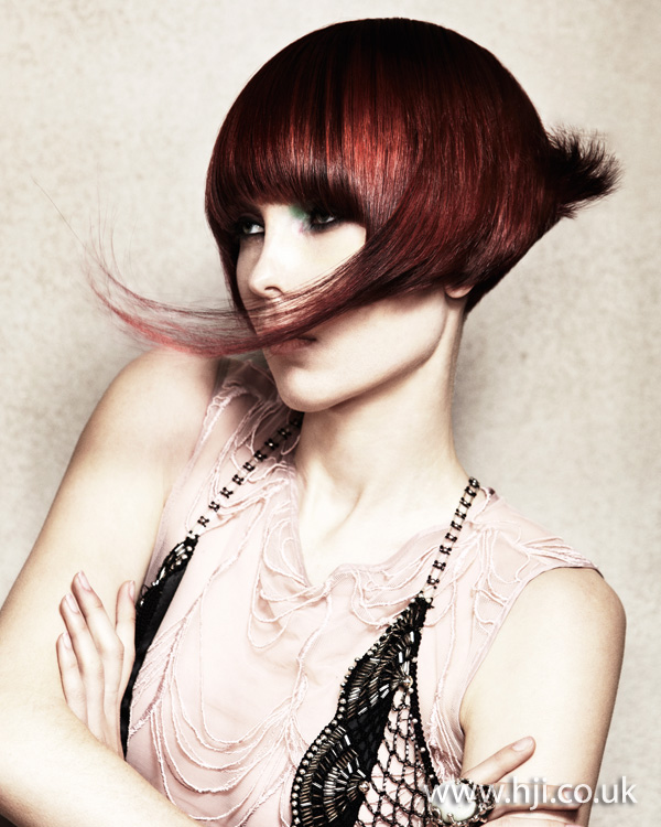 2012 avant gardewomens hairstyle with fringe