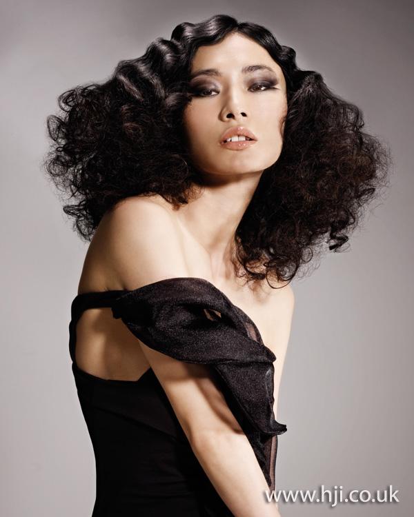 2012 black curls