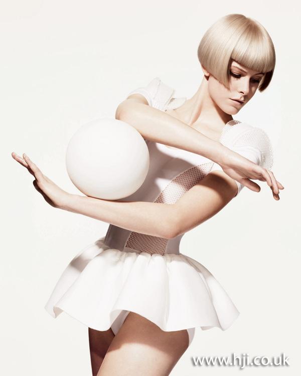 2012 blonde short bob womens hairstyle