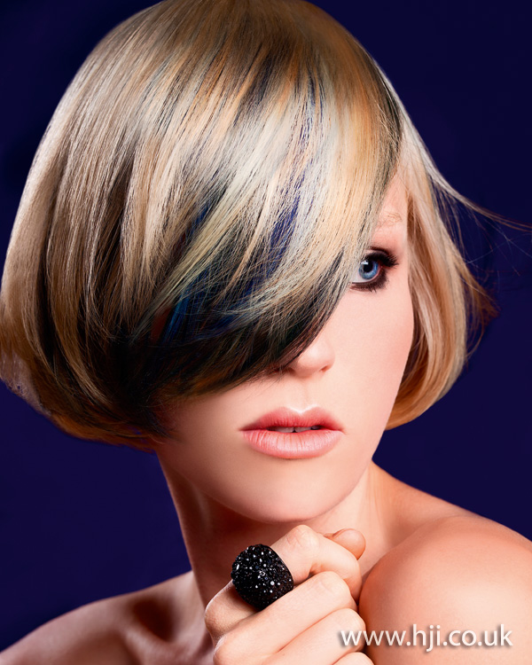 2012 blonde smooth bob womens hairstyle1