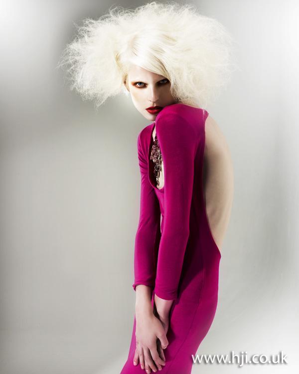 2012 blonde volume womens hairstyle