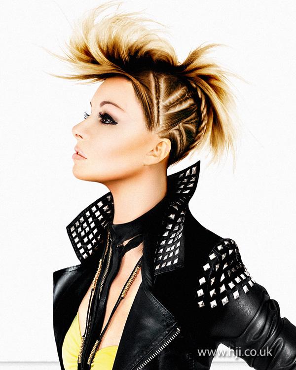 2012 braided quiff womens hair