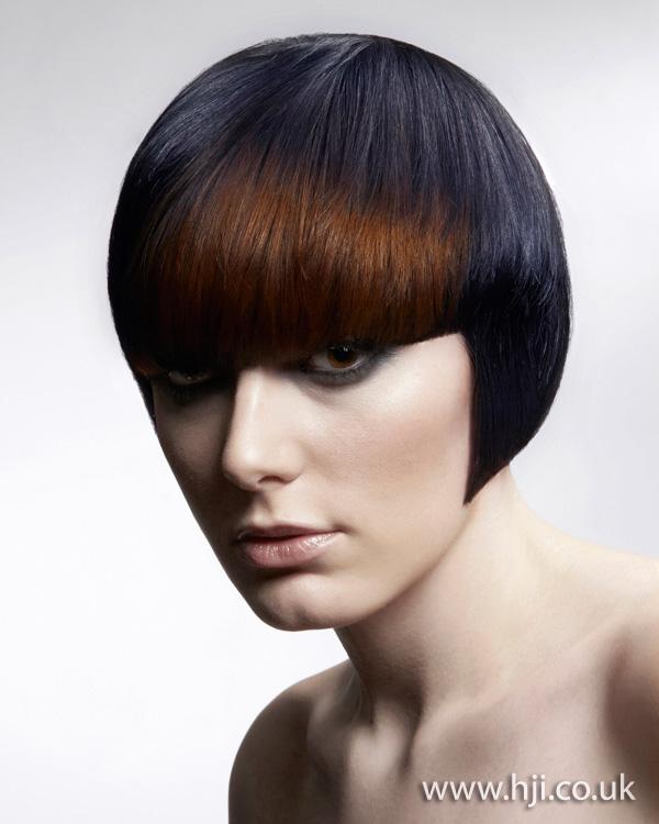 2012 brunette short womens hairstyle