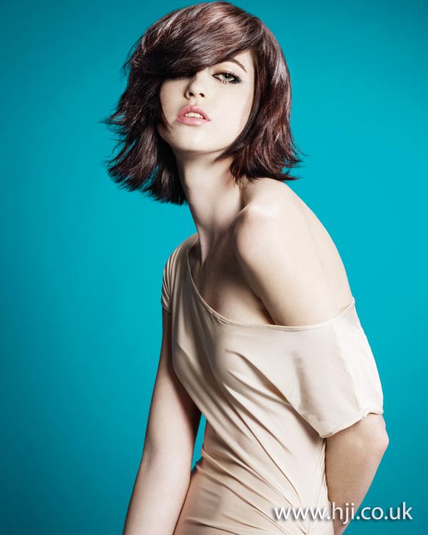 2012 brunette textured