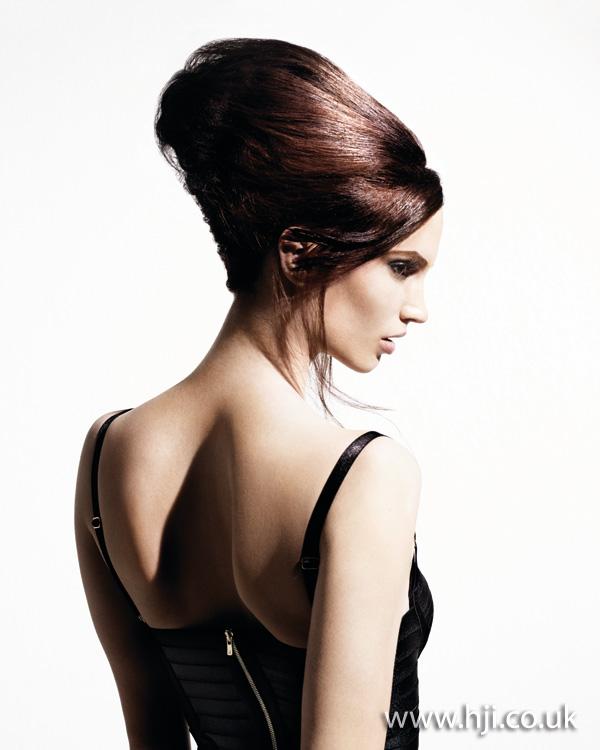 2012 brunette updo2