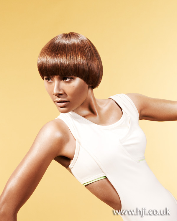 2012 copper short shiny hairstyle
