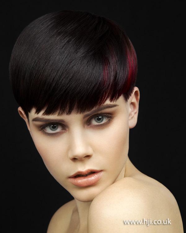 2012 creative colour short womens hairstyle