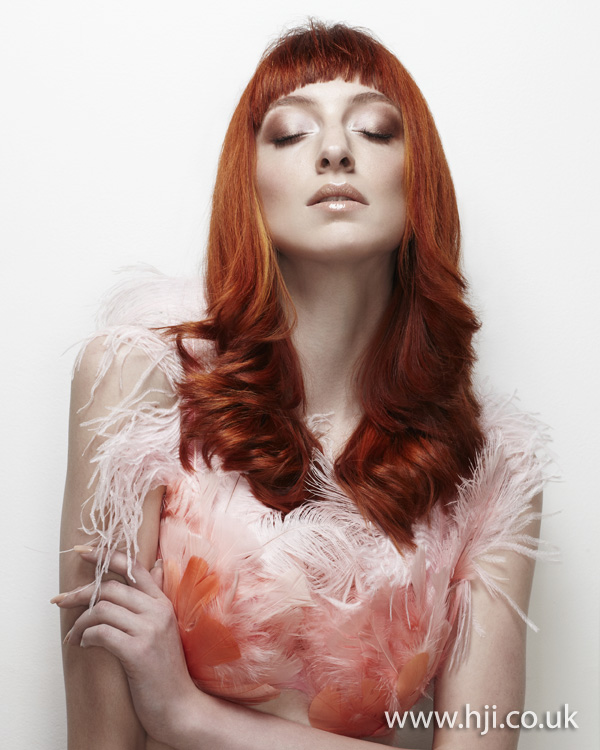 2012 creative colour womens long hairstyle