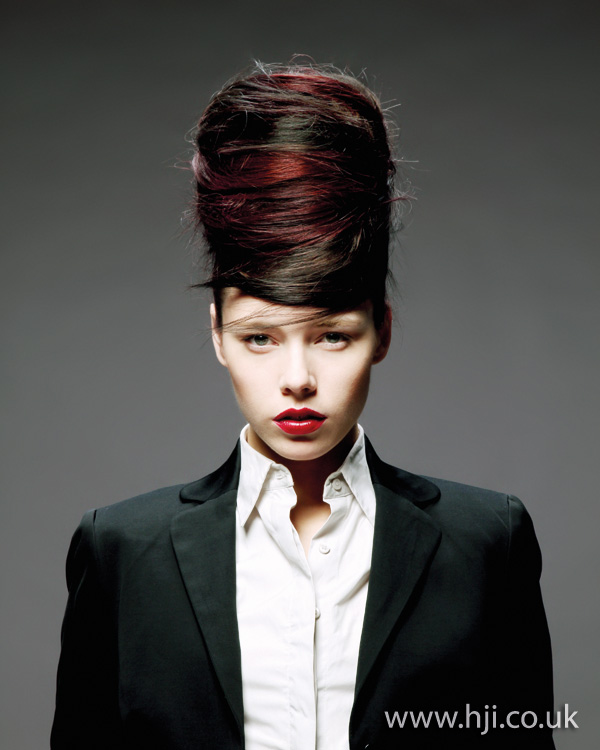creative colour hairstyle from 2012