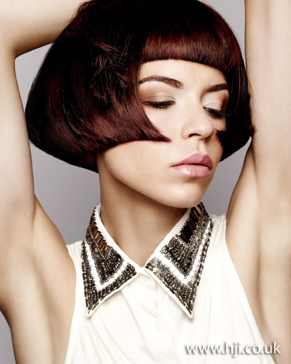 2012 graphic brunette womens hairstyle