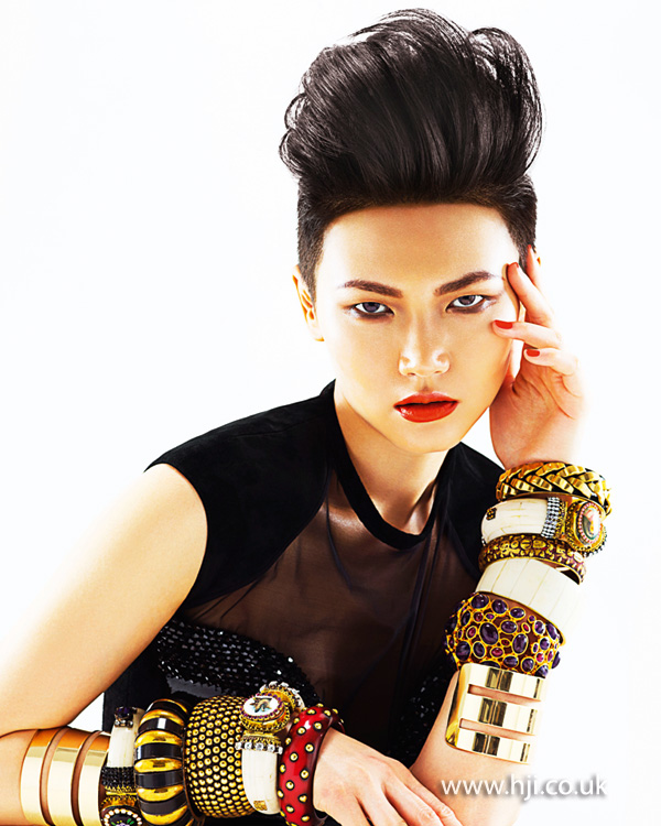 2012 high quiff womens hairstyle