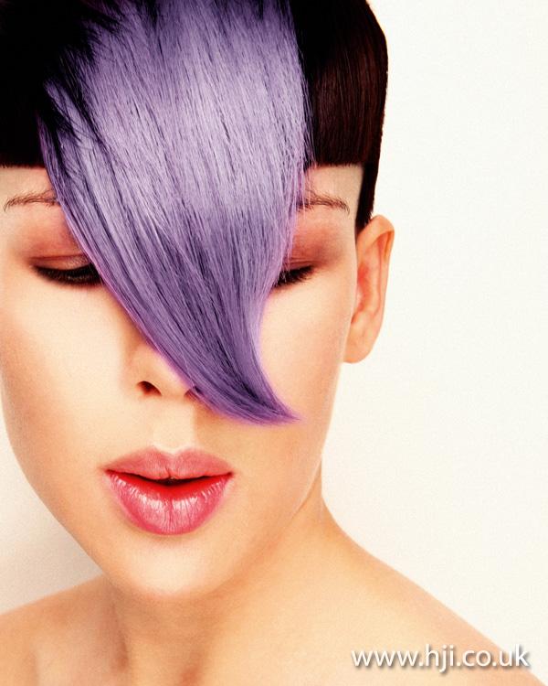 2012 lilac fringe womens hair