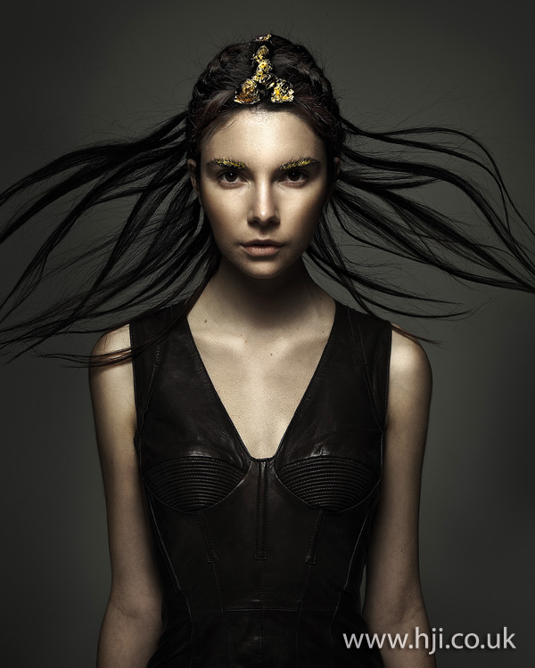 2012 long headdress womens hairstyle