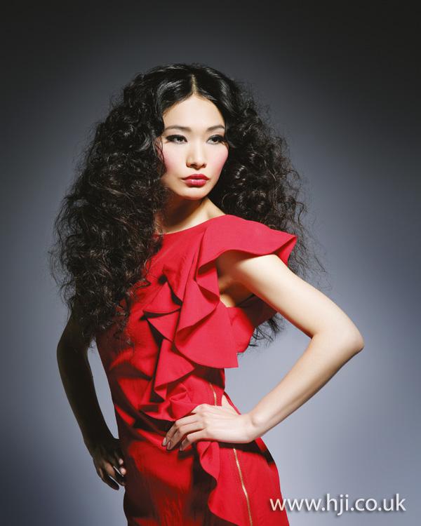 2012 long voluminous curls womens hairstyle
