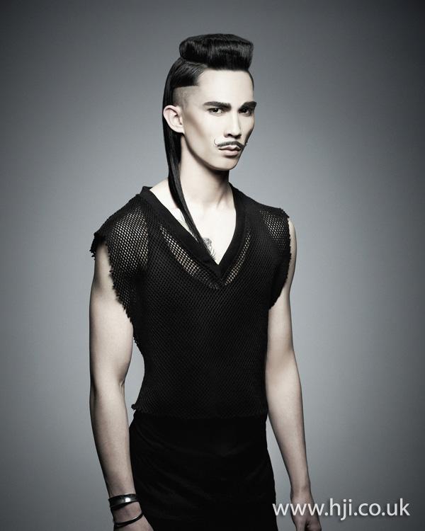 2012 mens avant garde hairstyle