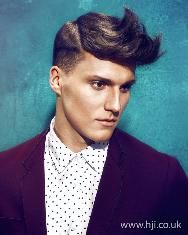 2012 mens quiff hairstyle