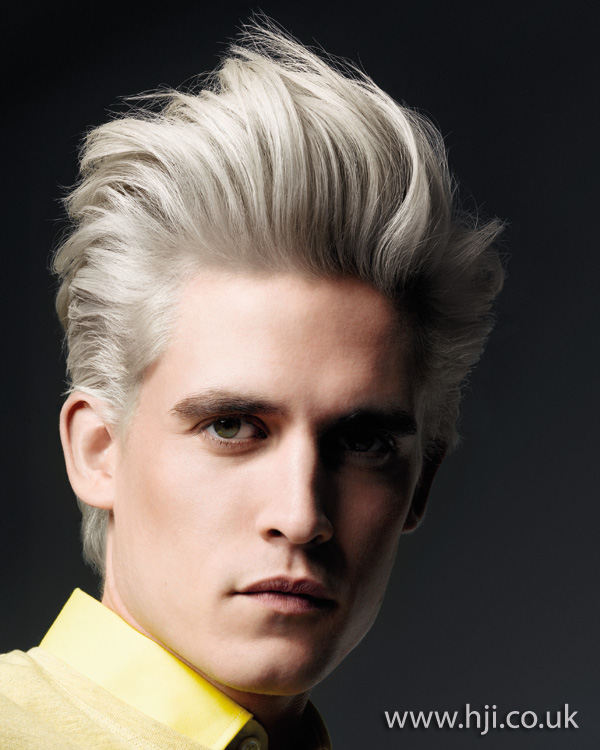 mens quiff hairstyle from 2012