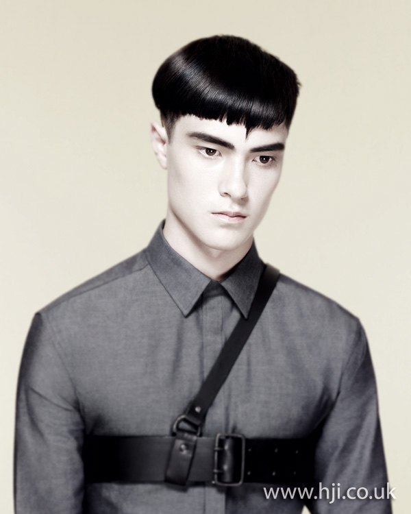 2012 mens short blunt hairstyle