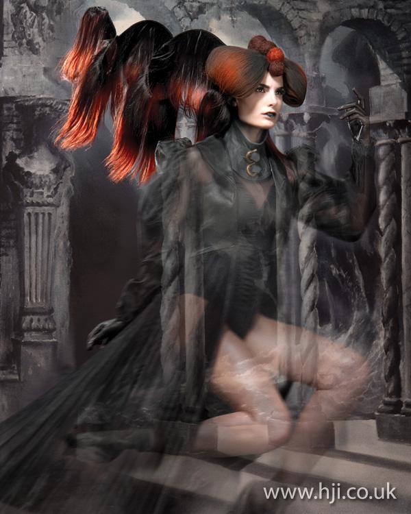 2012 oversized avant garde womens hairstyle