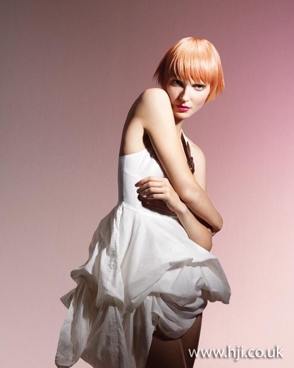 2012 peach short