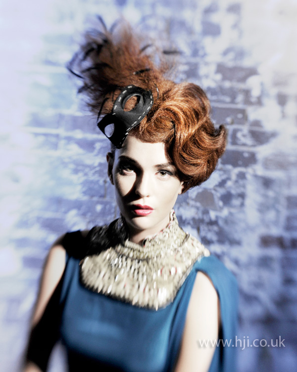 2012 redhead womens hairstyle accessory