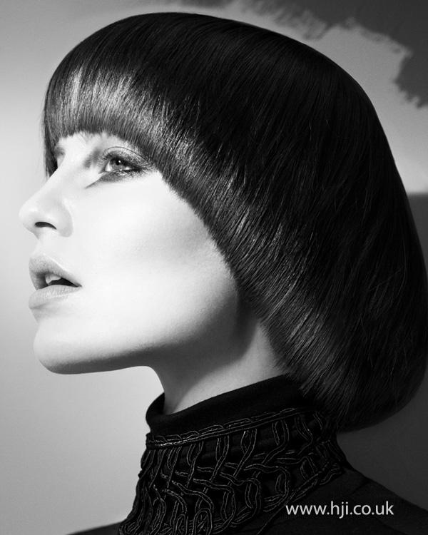 2012 round cut bob womens hairstyle
