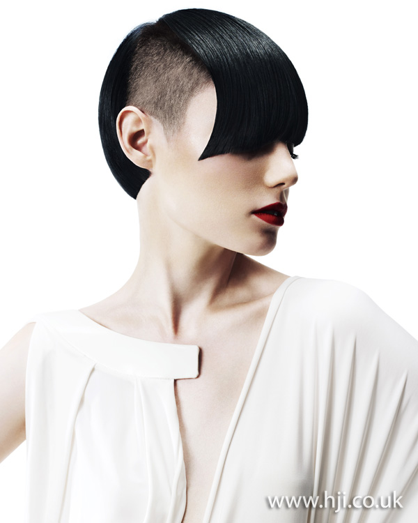2012 shaved sides short womens hairstyle
