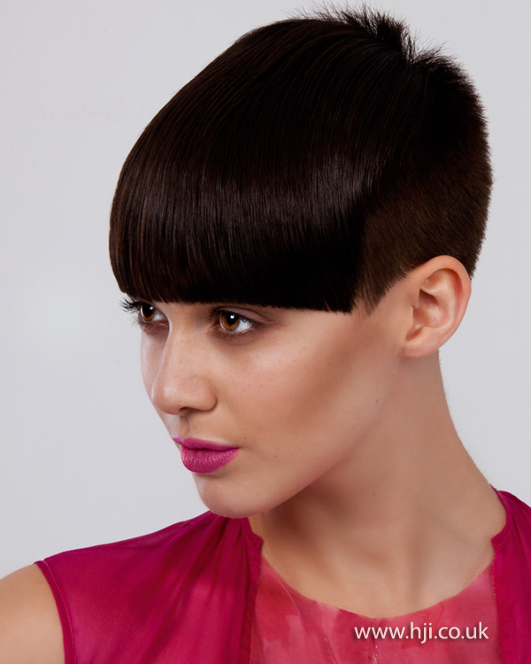 2012 short cropped black womens hairstyle