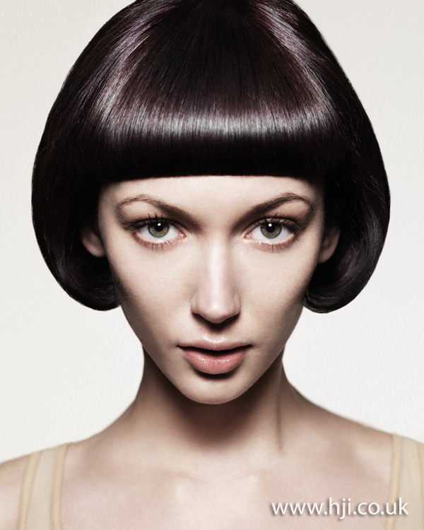 2012 short curved bob womens hairstyle