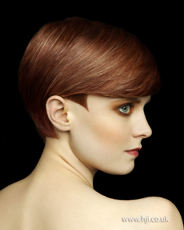 2012 short feminine side swept womens hairstyle