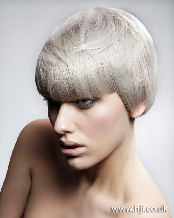 2012 short platinum grey womens hairstyle