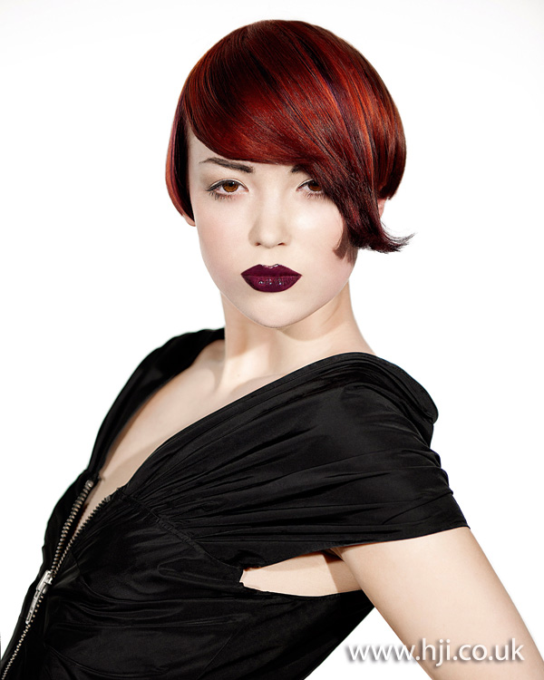2012 short red womens hairstyle3