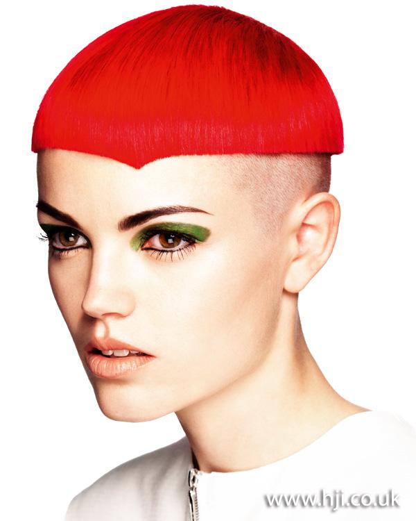 2012 short red womens hairsyle