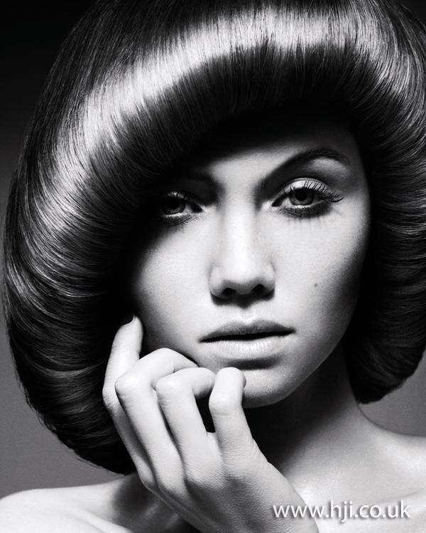 2012 sleek brunette