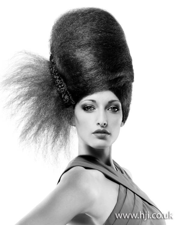 2012 tall updo womens hairstyle