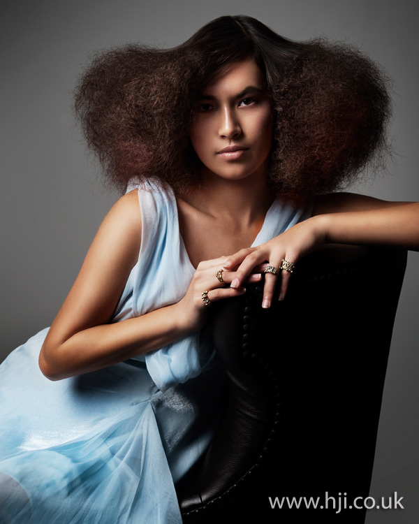 2012 voluminous afro hairstyle