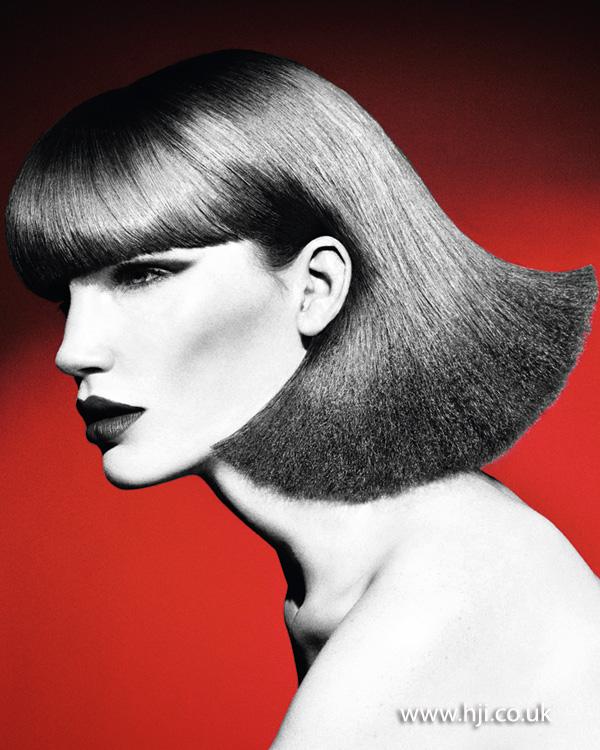 2012 womens bob hairstyle fringe volume