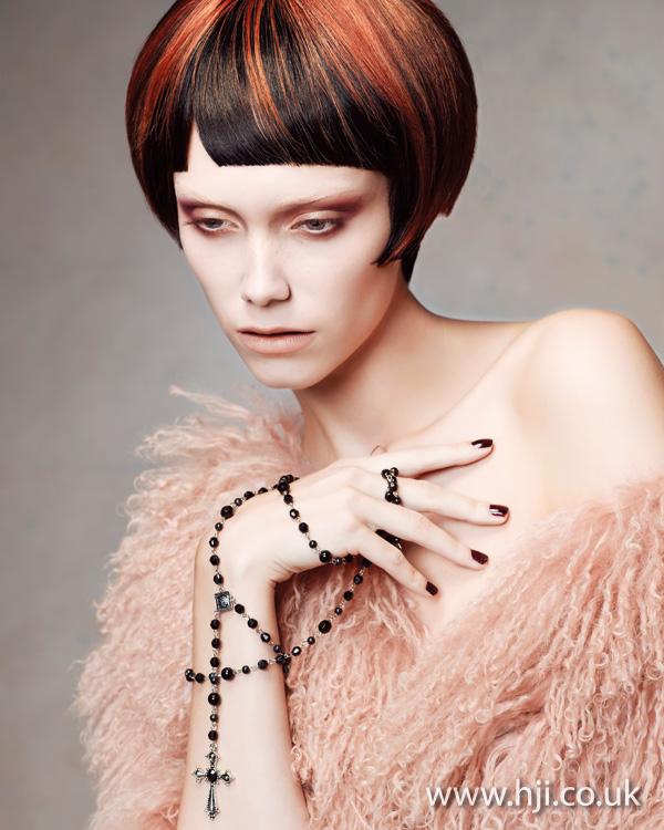 2012 womens hairstyle creative streaks