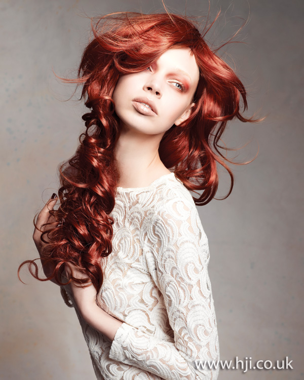 2012 womens hairstyle long curls