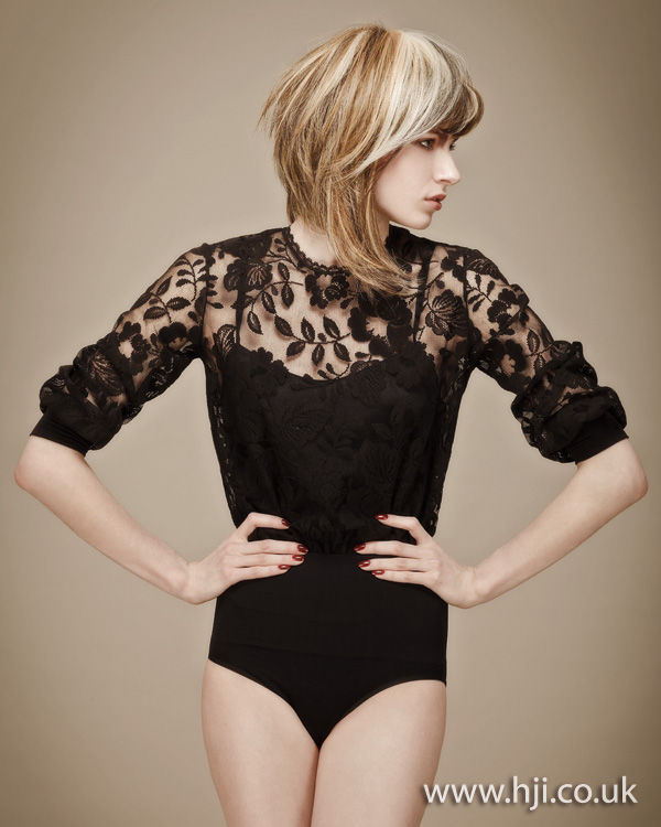 2012 womens hairstyle short back long front