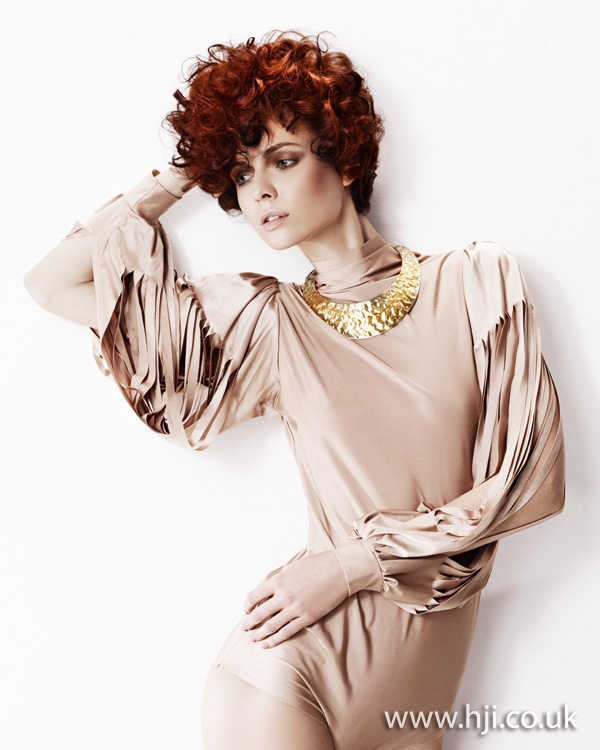 2012 womens short curly hairstyle