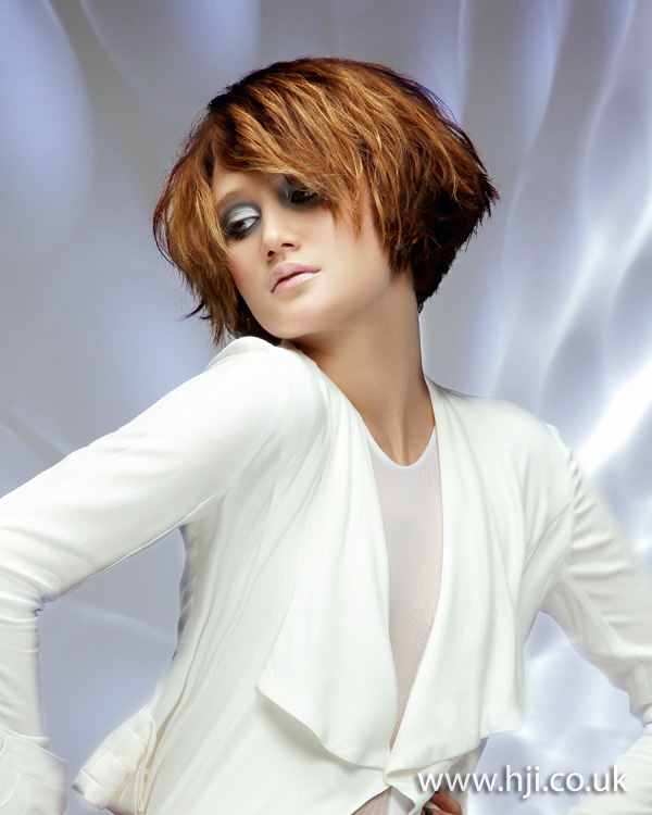 2012 womens textured midlength hairstyle