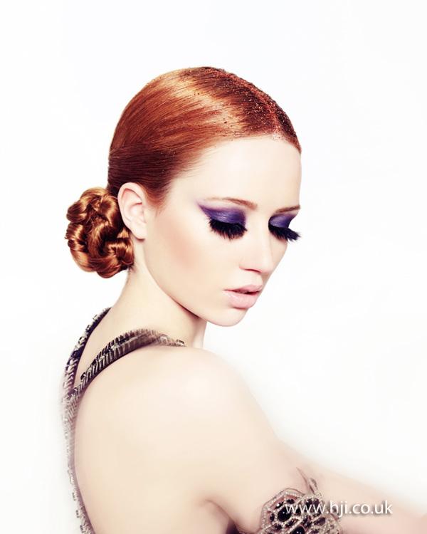 2013 braided bun hair