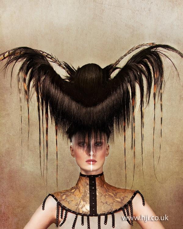2013 hair sculpture bat