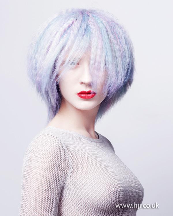 2013 pastel blue hair