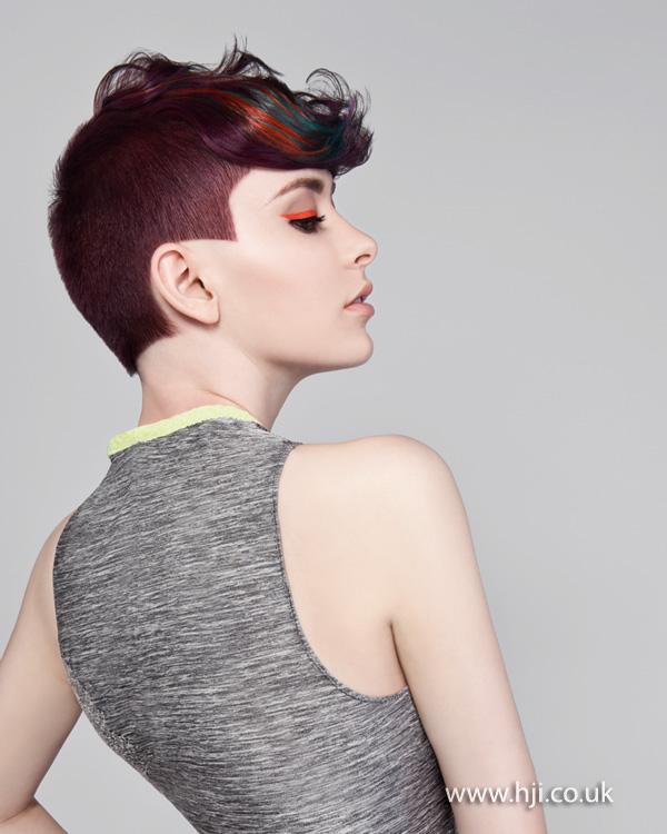 2013 punky short hair