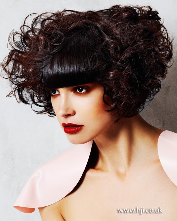 2013 short curly hair
