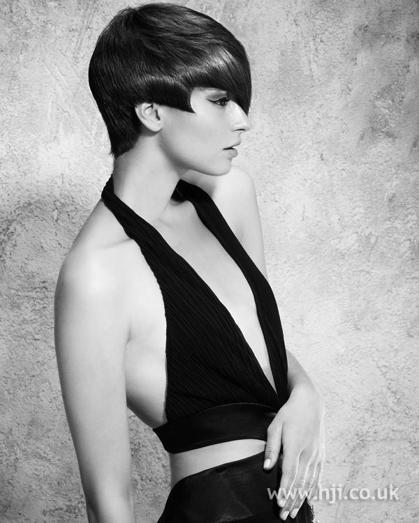 Adele Bourne BHA NE6 hairstyle