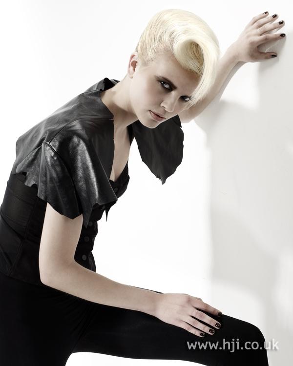 Anne McGuigan BHA Eastern8 hairstyle