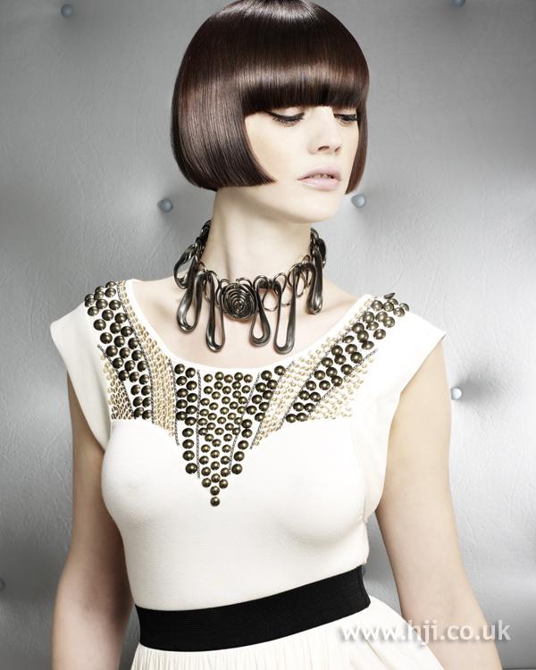 Hannah Gordon BHA NE6 hairstyle